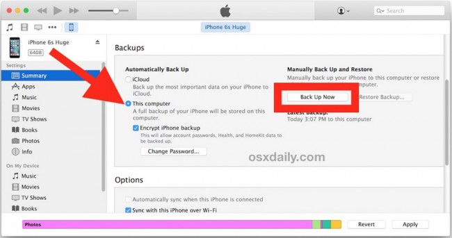 backup de arquivos do ipad ao disco rigido externo com way manual