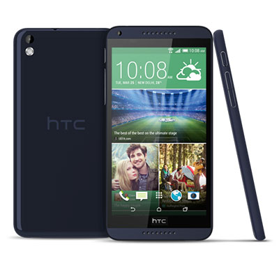 HTC 816 mobile phone