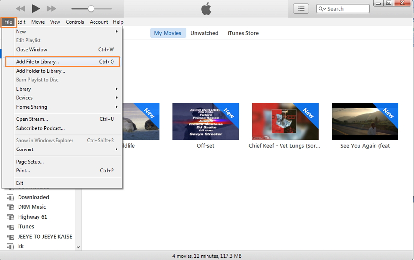 Basic PC to iPhone Transfer Tool: iTunes