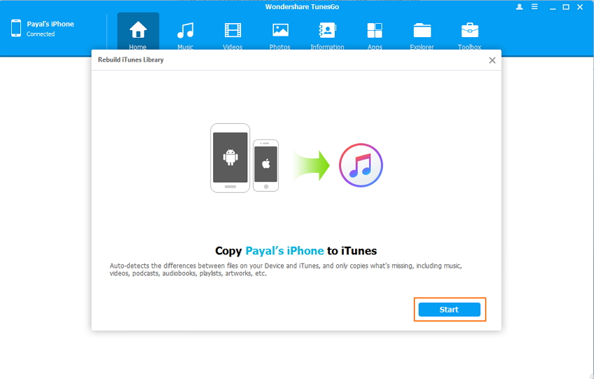 Rip Music from iPhone to iTunes