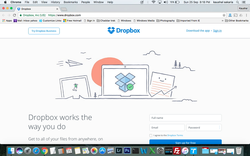 Mac to iPhone Transfer Using Dropbox or Other Cloud Services