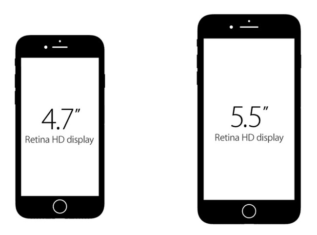 Comparación de Pantalla: iPhone 7 Plus vs. iPhone 7 de Apple