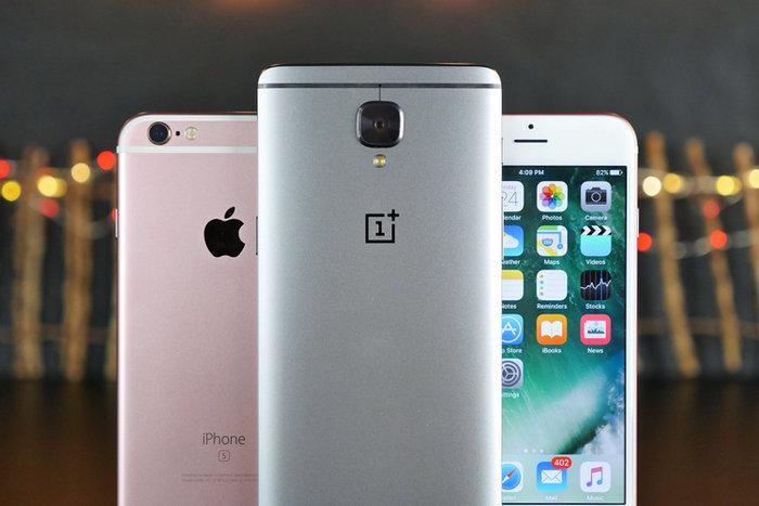 iPhone 7 vs. OnePlus 3