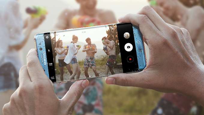 Transfert de photos sur Samsung Galaxy Note 7