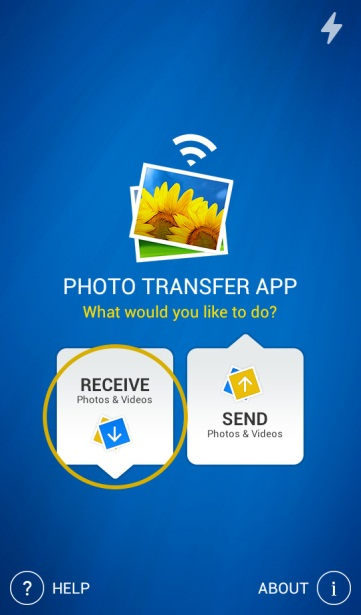 transfer photos from idevice to android