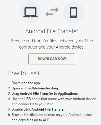 sauvegarde carte sd android sur mac
