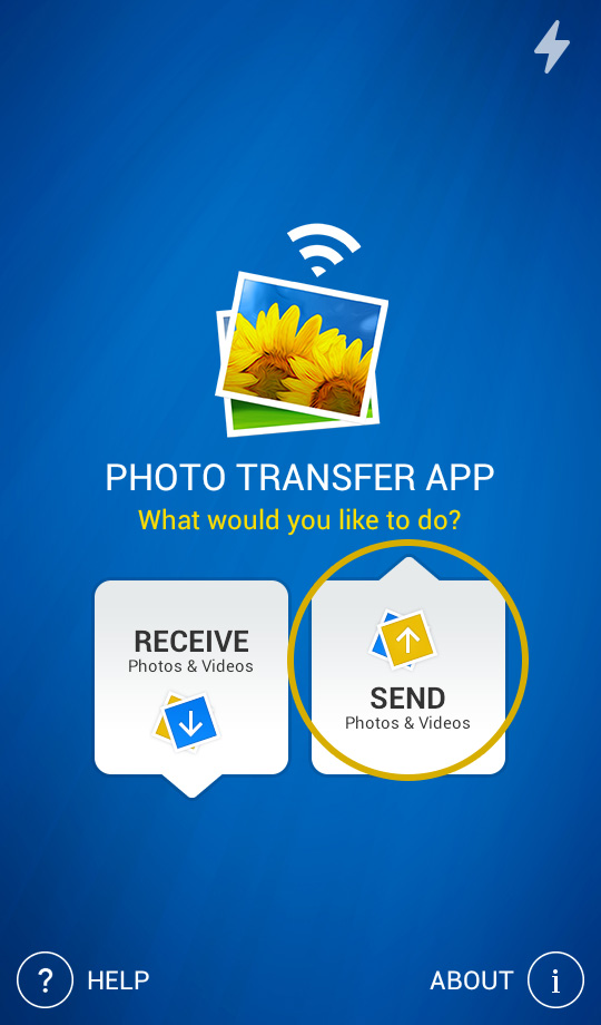transfer photos from android to mac