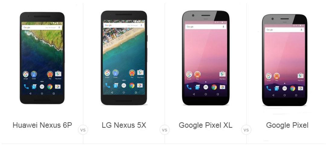 transférer des fichiers de nexus vers google pixel