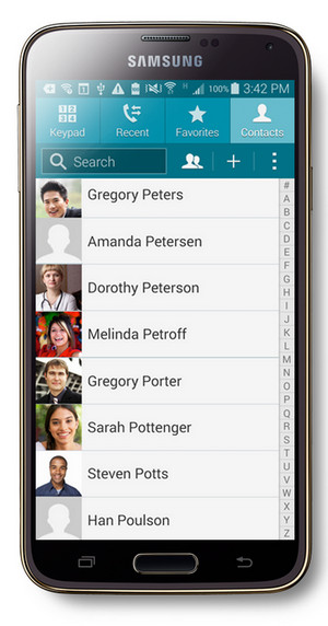 backup and restore android contacts