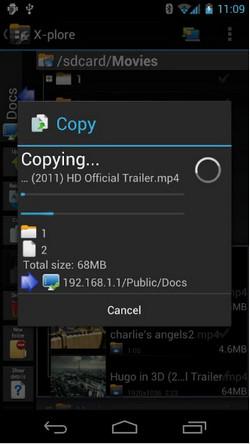 el mejor administrador de archivo X-plore Huawei