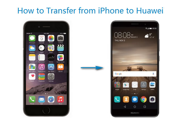 transfer everything from iphone to huawei