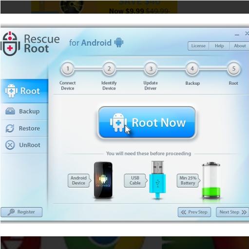 Software de desrooteo Samsung Gratuito