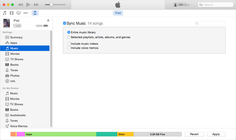 Transfer Files from PC to iPad with iTunes
