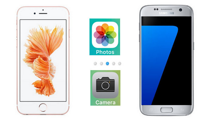 how to transfer photos from iphone to Samsung