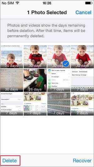 how to delete photos from iphone within few steps