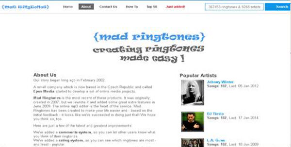 Top 15 Websites and Apps to add cool ringtones to your Phone-Mad Ringtones
