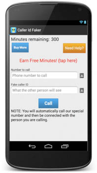 Free fake call id app for android-call id faker