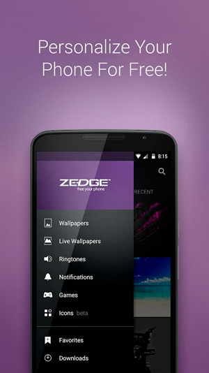free ringtones android app for android with Zedge