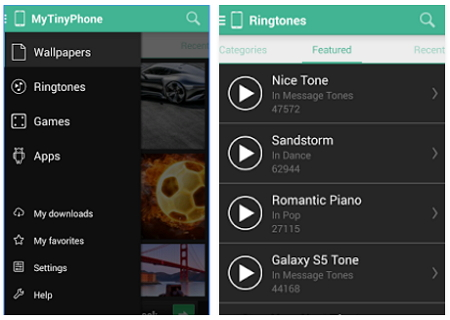 Make Free Samsung Ringtones-MTP