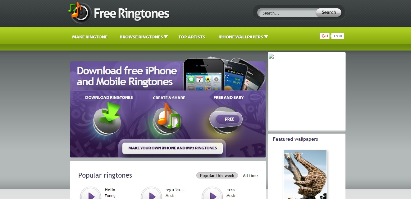 Get Loud Ringtones for Your Phone Free Ringtones