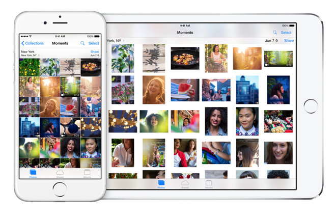 how to sync photos from iphone to ipad