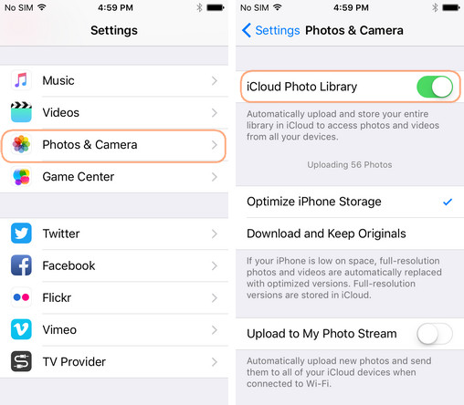 How to upload camera roll to icloud an ultimate guide how to upload camera roll to icloud photo library ccuart Image collections