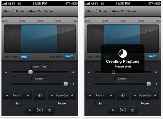 how to set songs as ringtones on an iphone