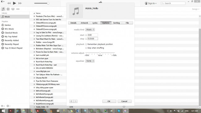 iphone ringtone maker-with iTunes step 2