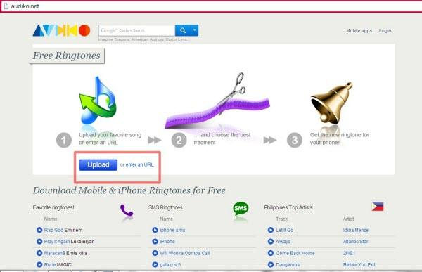 How to Make Your Own Ringtone with online website-1
