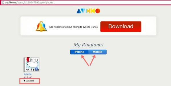 How to Make Your Own Ringtone with online website-4