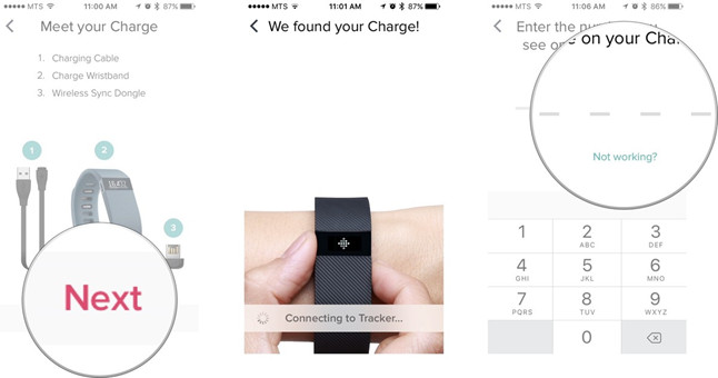 pair Fitbit with iPhone or iPad