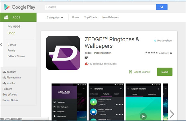 20 Best Ringtone Apps for Android to Make Your Phone Fun with Zedge step 1