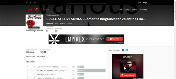 Romantic Love Ringtones Free Download Last.fm