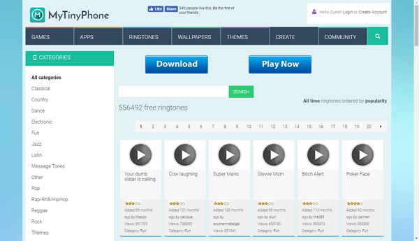 The Best Ringtone Websites for iphone-MyTinyPhone
