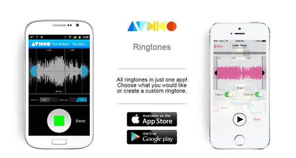 Best Ringtone apps for Android-Audiko