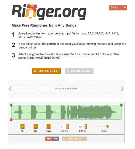 free ringtone maker android-ringer