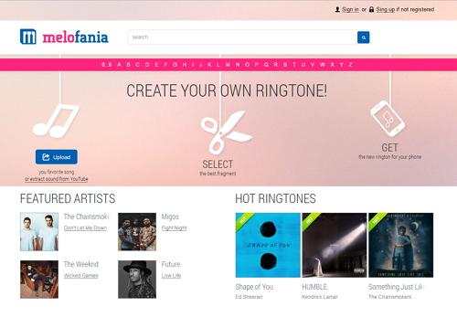 free ringtone maker android-melofania