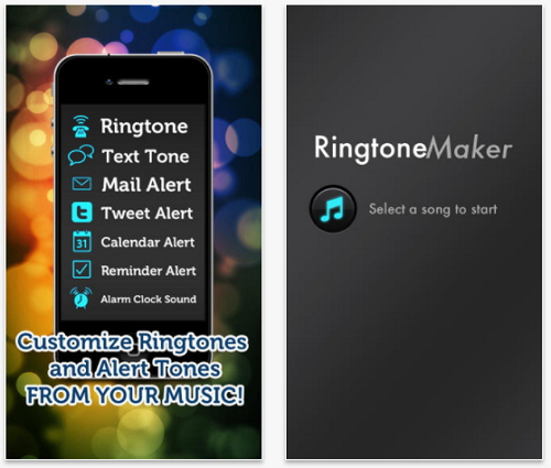 top free music ringtone apps for iPhone-Ringtone Maker