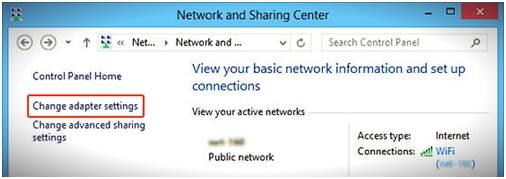 Transfer Files from Samsung to PC via WiFi-disable internet sharing
