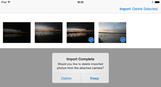 How to import photos from digital camera to iPhone