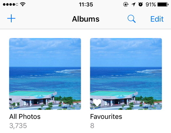how to get photos from computer to iphone windows