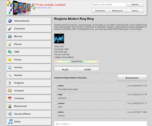 Get Loud Ringtones for Your Phone Ring mobi