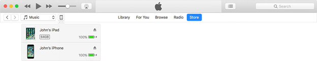 how to sync iphone and ipad with iTunes