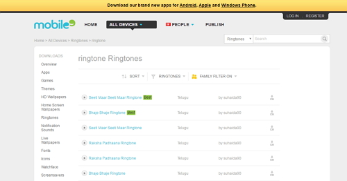 Country ringtones free-Mobile9-country