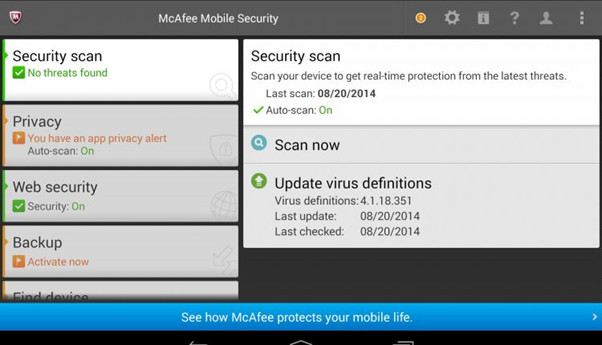 Top 4 Android Virus Remover