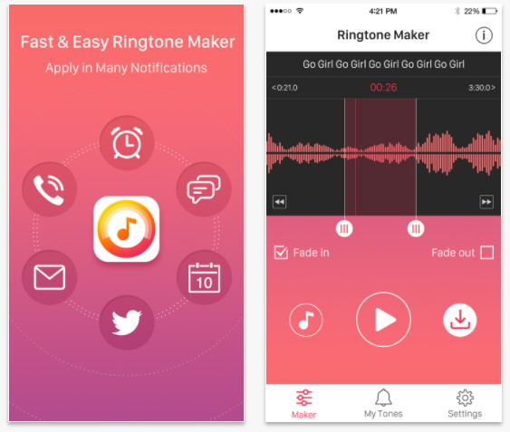 best iphone ringtone app- Ringtone Maker