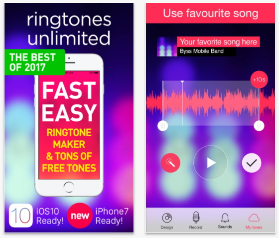 iphone ringtone app-Ringtones for iPhone & Ringtone Maker