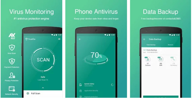 Top 3 Antivirus Android - Download Antivirus Android