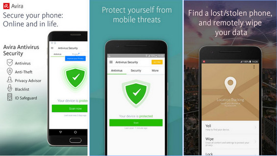 Top 4 Antivirus Android - Download Antivirus Android
