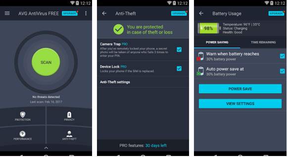 Top 5 Antivirus Android - Download Antivirus Android